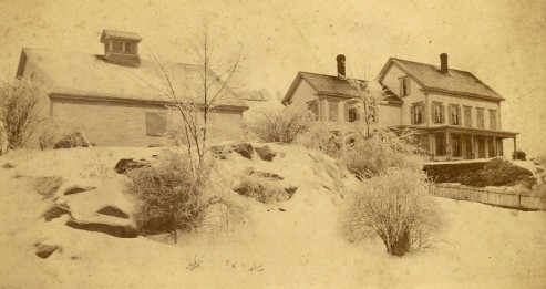 Dr. Towle's house, still standing on Spring Street
